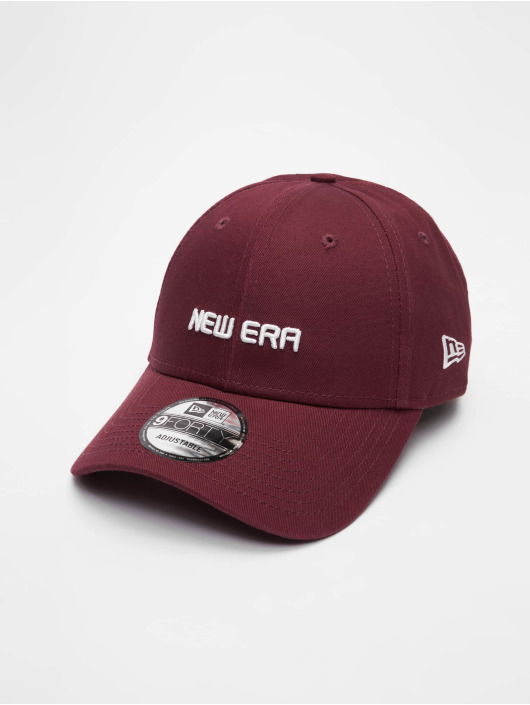 New Era Snapback Caps Essential 9Forty czerwony