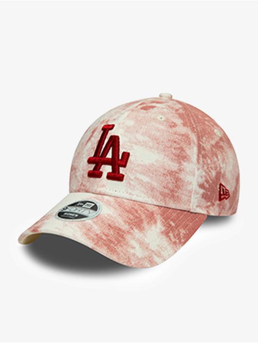 New Era Snapback Caps MLB Los Angeles Dodgers Denim Colour 9Forty czerwony