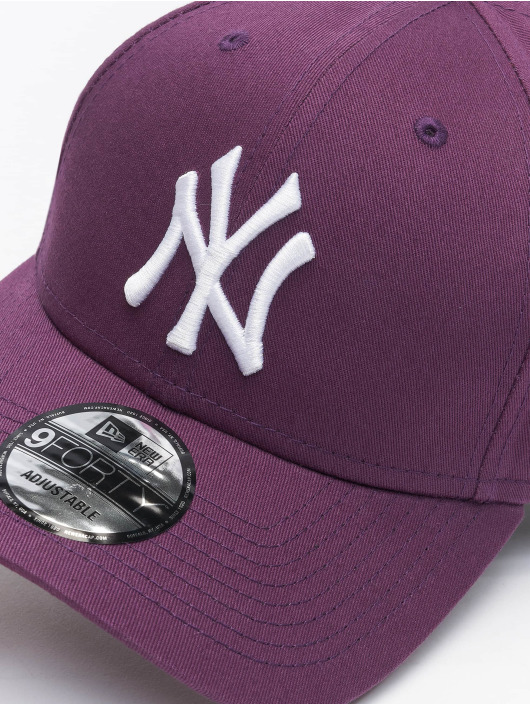 New Era Snapback Caps Colour Ess New York Yankees 9Forty fioletowy