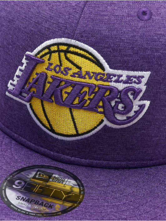 New Era Snapback Caps NBA La Lakers Shadow Tech fioletowy