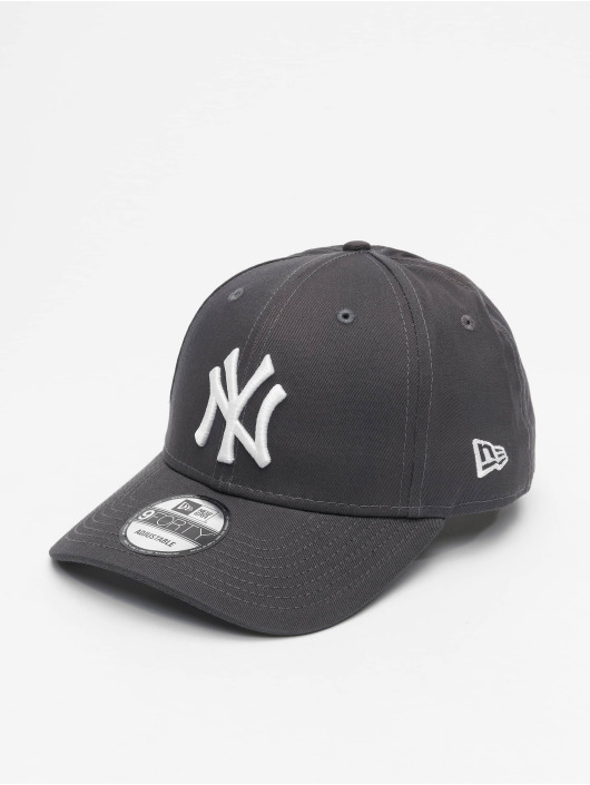 New Era Snapback Caps MLB NY Yankees League Essential 9Forty grå