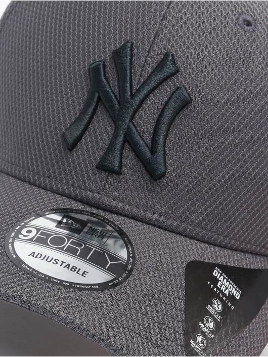 New Era Snapback Caps MLB NY Yankees Diamond Era 9forty grå
