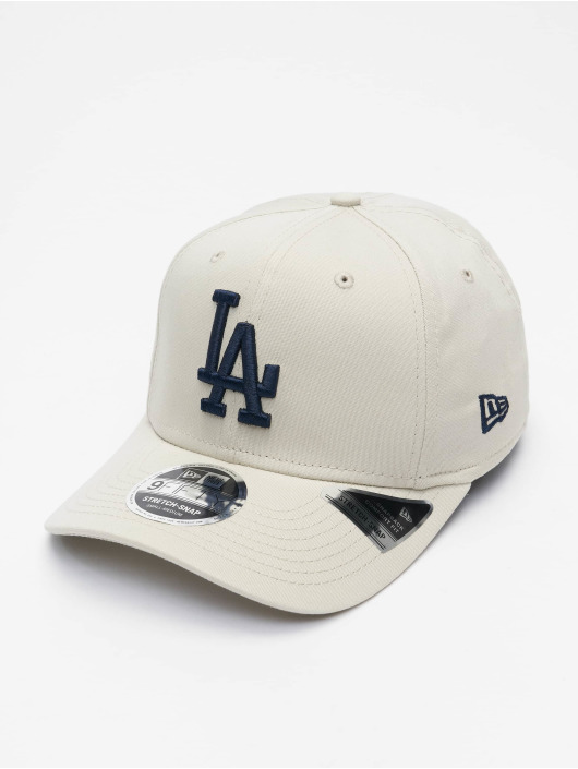 New Era Snapback Caps MLB Los Angeles Dodgers League Essential 9Fifty grå