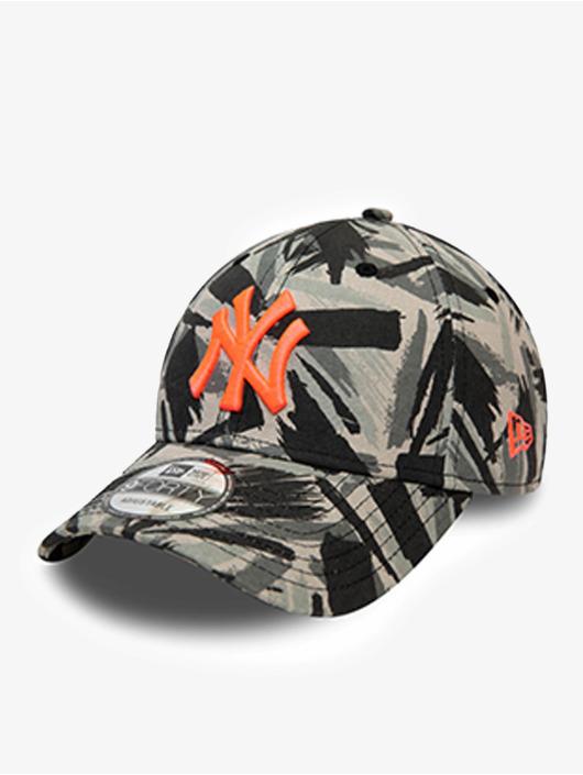 New Era Snapback Caps MLB New York Yankees New Camo 9Forty grå
