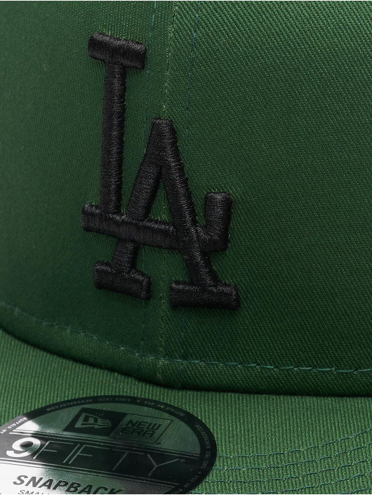 New Era Snapback Caps MLB LA Dodgers League Essential 9Fifty grøn