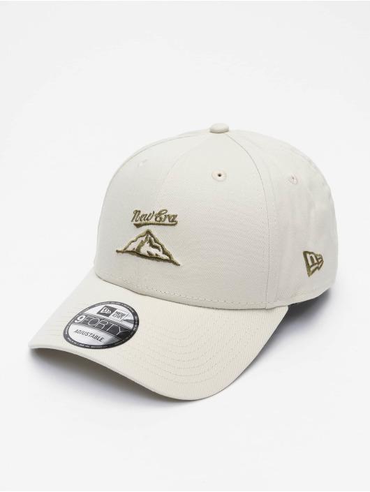 New Era Snapback Caps NE Camp harmaa