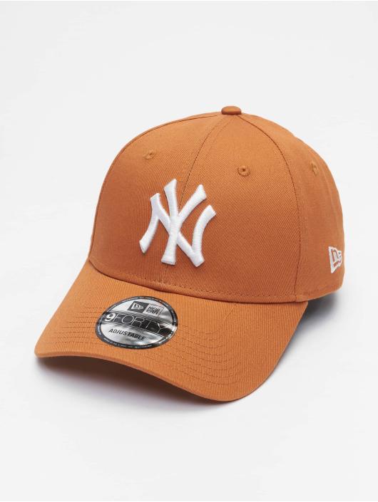 New Era Snapback Caps Mlb Properties New York Yankees League Essential 9forty hnědý