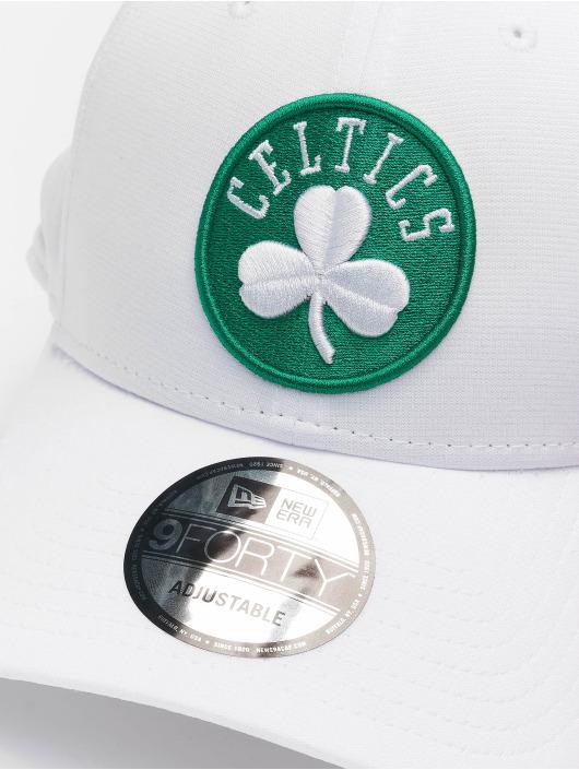 New Era Snapback Caps NBA Boston Celtics Shadow Tech 9forty hvid