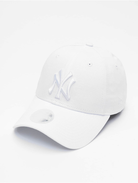 New Era Snapback Caps MLB NY Yankees Eshortsleeve 9forty hvid
