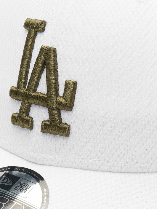 New Era Snapback Caps MLB Diamond Era 9forty Los Angeles Dodgers hvit