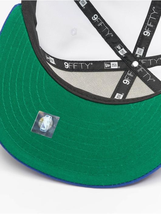 New Era Snapback Caps NBA NY Knicks Retro Pack Flat Visor 9Fifty hvit