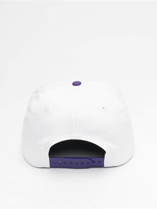 New Era Snapback Caps NBA LA Lakers Retro Pack Flat Visor 9Fifty hvit