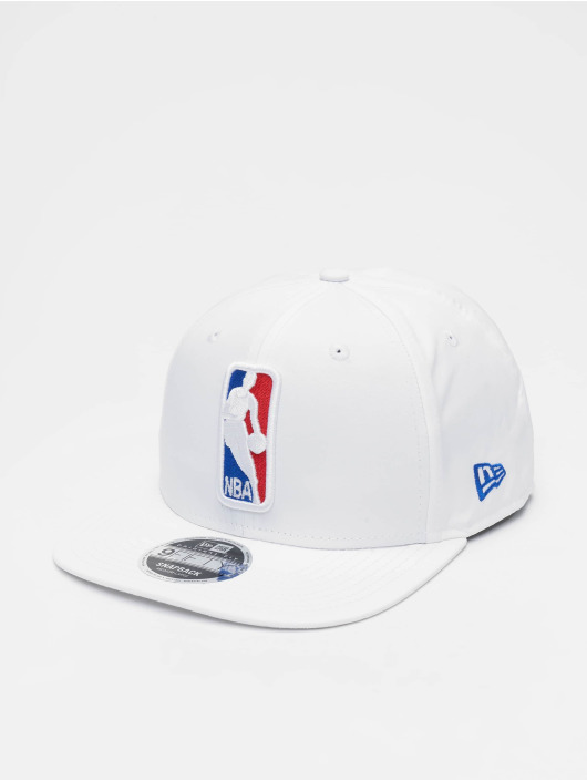 New Era Snapback Caps NBA Featherweight Logoman 9fifty Original Fit hvit