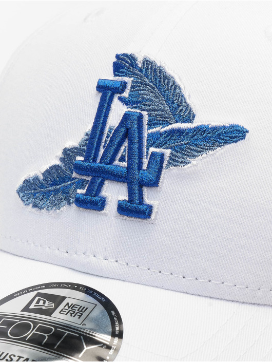 New Era Snapback Caps MLB Los Angeles Dodgers Light Weight 9forty hvit