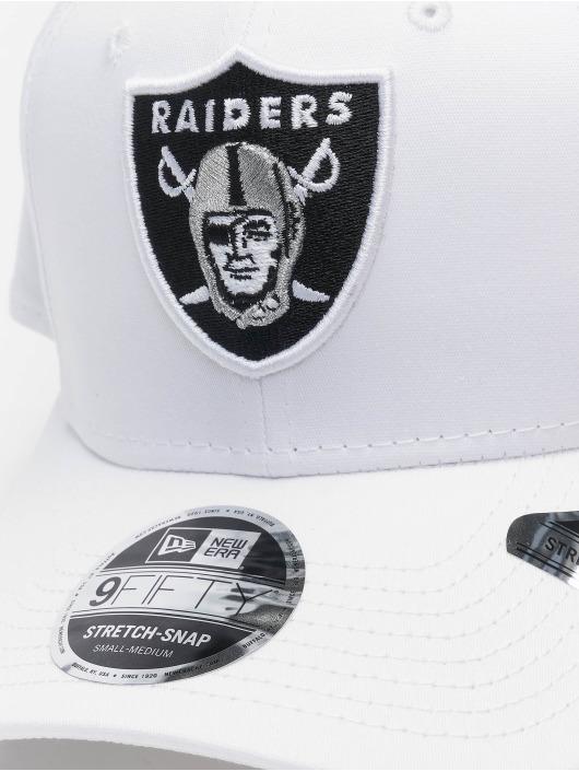 New Era Snapback Caps White Base 9Fifty Oakland Raiders hvit