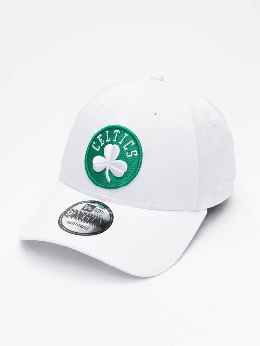 New Era Snapback Caps NBA Boston Celtics Shadow Tech 9forty hvit