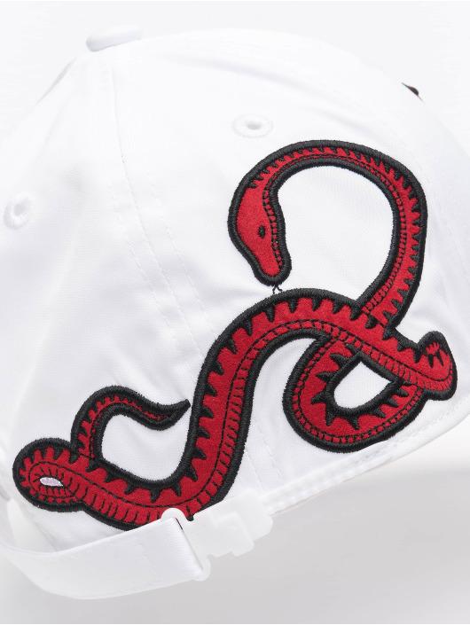 New Era Snapback Caps MLB LA Dodgers Korean hvit