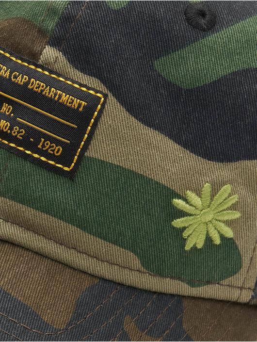 New Era Snapback Caps Military Flower 9Forty kamufláž