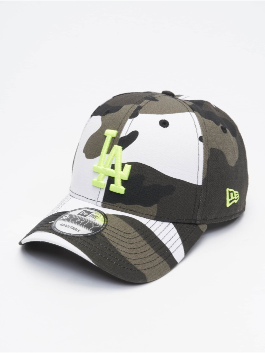 New Era Snapback Caps MLB LA Dodgers Camo Essential kamufláž