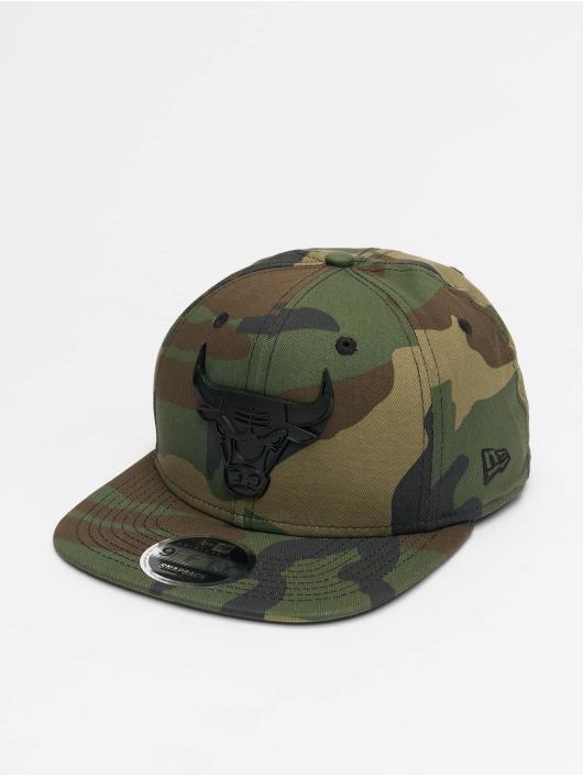 New Era Snapback Caps NBA Chicago Bulls Metal Badge 9Fifty kamuflasje