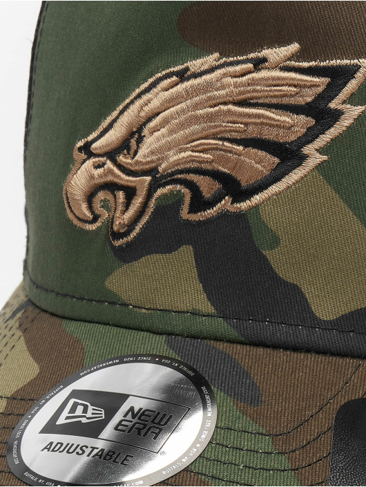 New Era Snapback Caps NFL Camo Essential Trucker Philadelphia Eagles kamuflasje