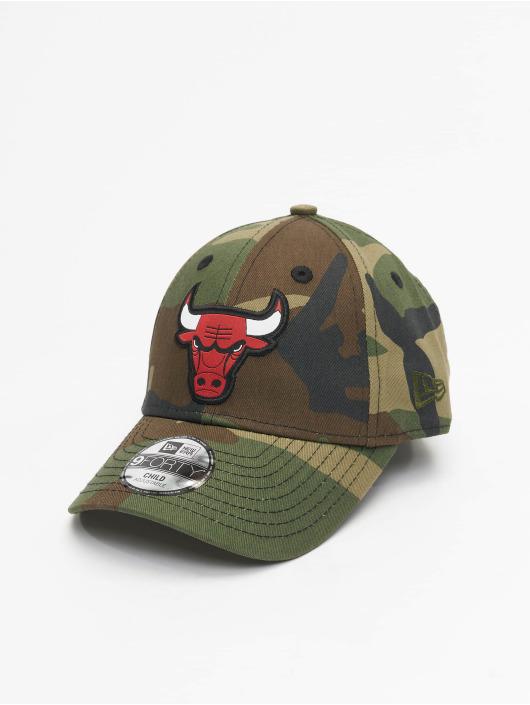 New Era Snapback Caps Character Chicago Bulls 9Forty kamuflasje