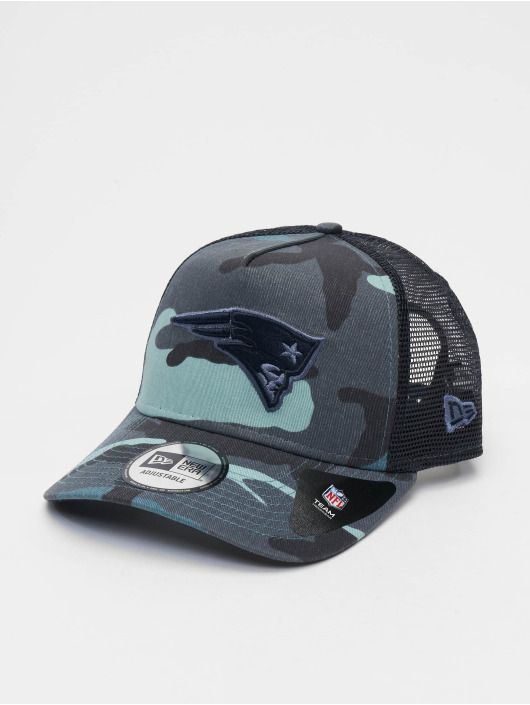 New Era Snapback Caps NFL Camo Essential Trucker New England Patriots moro