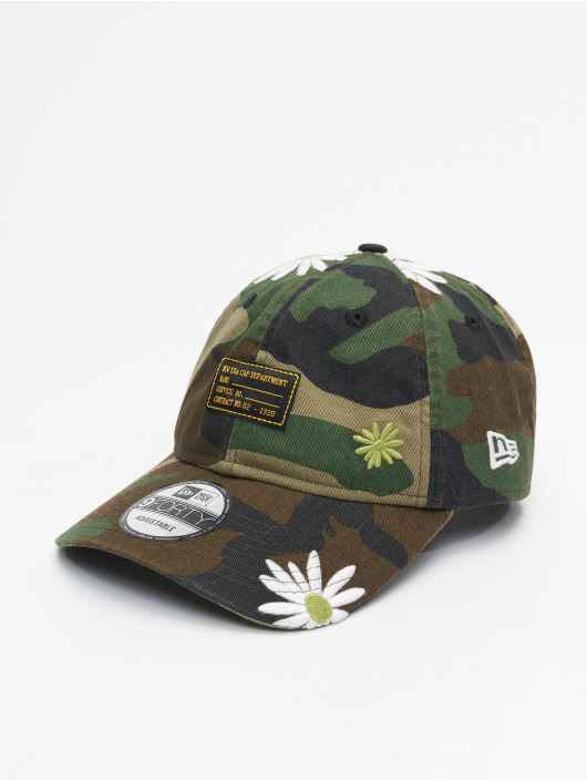 New Era Snapback Caps Military Flower 9Forty moro