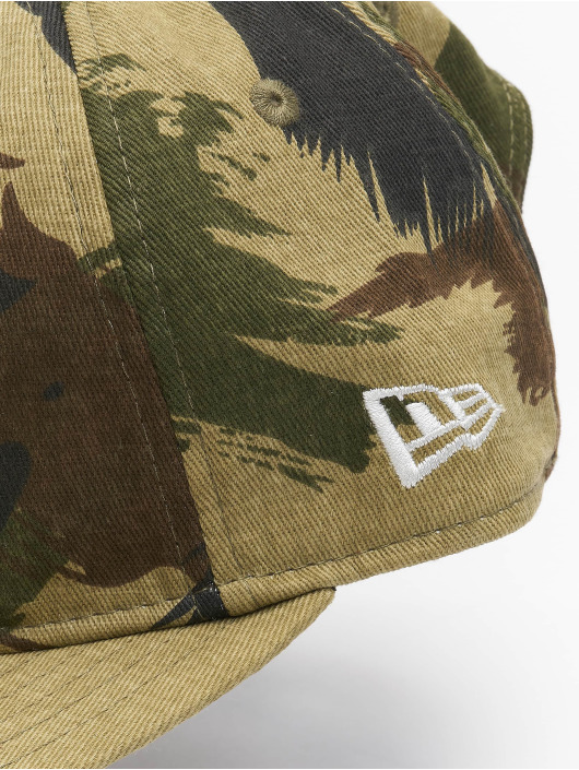 New Era Snapback Caps Camo Ripstop Retro Crown 9Fifty moro