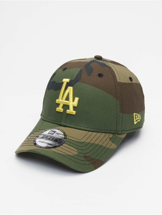 New Era Snapback Caps Mlb Properties Los Angeles Dodgers All Over Camo 9forty moro