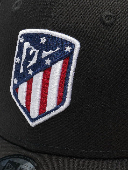 New Era Snapback Caps Essential Atletico Madrid  9Forty musta
