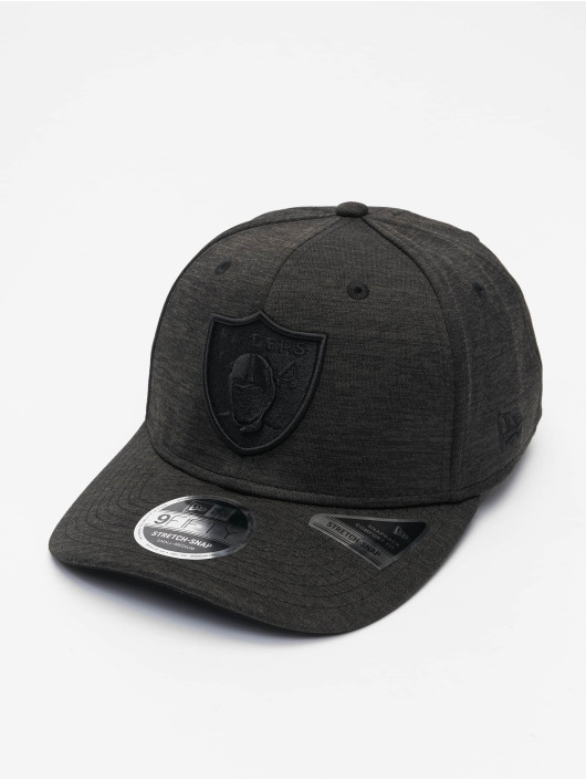 New Era Snapback Caps NFL Las Vegas Raiders Tonal Team 9Fifty Stretch musta