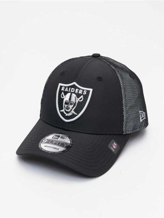 New Era Snapback Caps NFL Las Vegas Raiders Mesh Underlay 9Forty musta