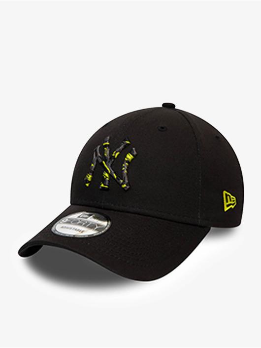 New Era Snapback Caps MLB New York Yankees Camo Infill 9Forty musta