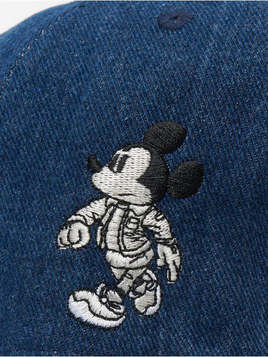 New Era Snapback Caps Disney Mickey Mouse Street Mickey Denim 9fifty niebieski