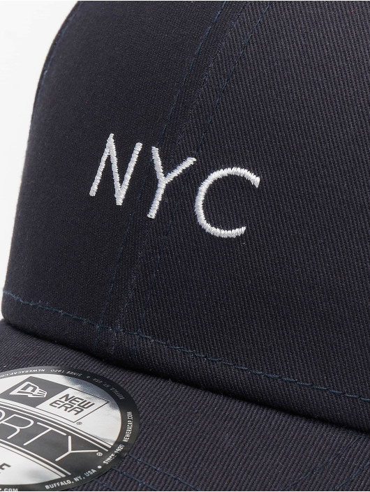 New Era Snapback Caps NYC Seasonal niebieski
