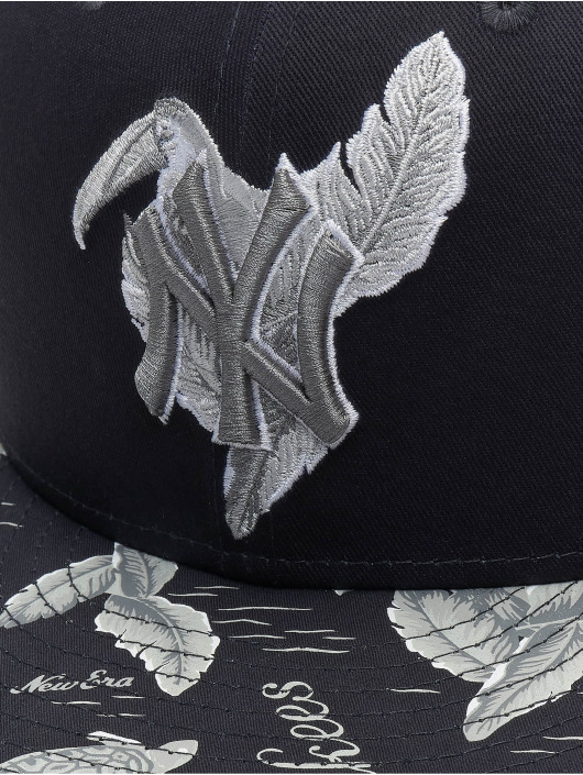 New Era Snapback Caps MLB New York Yankees Desert Island 9fifty niebieski