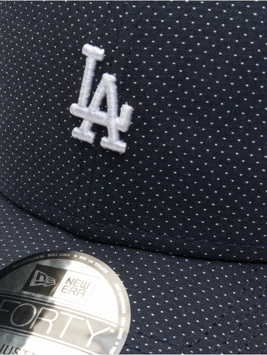 New Era Snapback Caps MLB LA Dodgers Polkadot 9Forty niebieski
