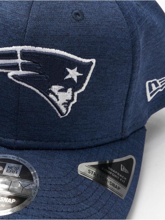 New Era Snapback Caps NFL New England Patriots Stretch niebieski