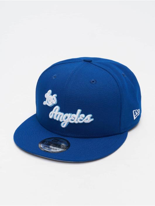 New Era Snapback Caps NBA 950 Los Angeles Lakers Hardwood Classics Nights 2021 niebieski