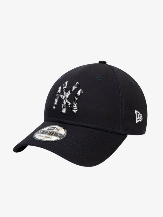 New Era Snapback Caps MLB New York Yankees Camo Infill 9Forty niebieski