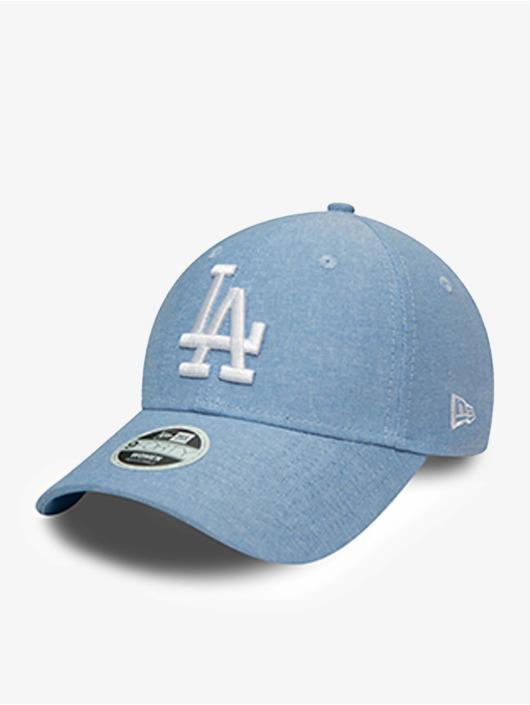 New Era Snapback Caps MLB Los Angeles Dodgers Chambray 9Forty niebieski
