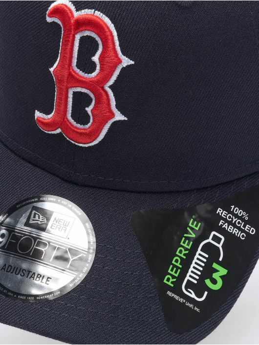 New Era Snapback Caps MLB Boston Red Sox Team Contrast 9Forty niebieski