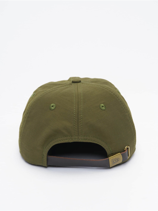 New Era Snapback Caps Green Ripstop Retro Crown oliivi