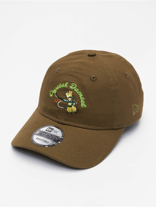 New Era Snapback Caps NE Fishing Tackle 9Twenty oliivi