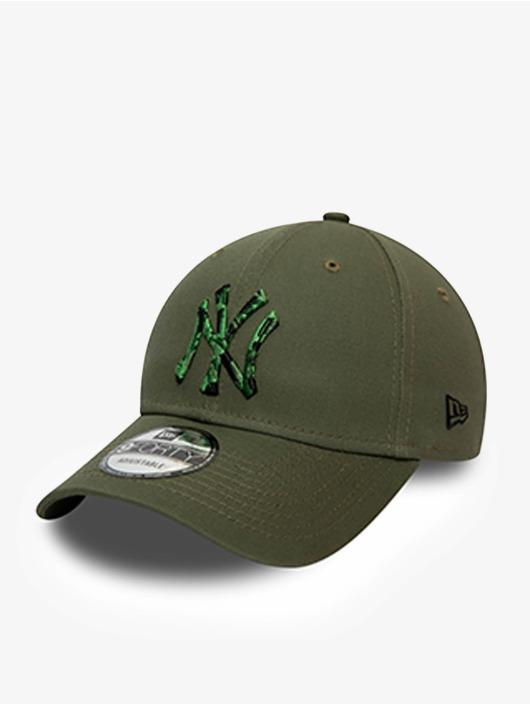 New Era Snapback Caps MLB New York Yankees Camo Infill 9Forty oliivi