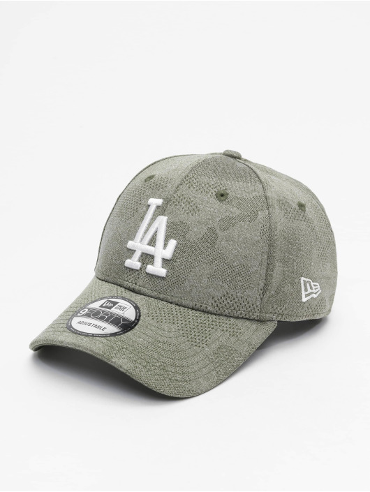 New Era Snapback Caps MLB LA Dodgers Engineered Plus 9Forty oliven