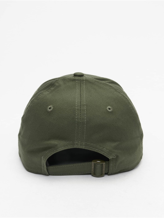 New Era Snapback Caps Flagged 9Forty oliven
