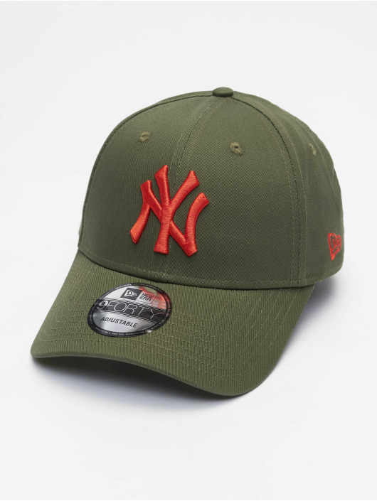 New Era Snapback Caps Mlb Properties New York Yankees League Essential 9forty oliven