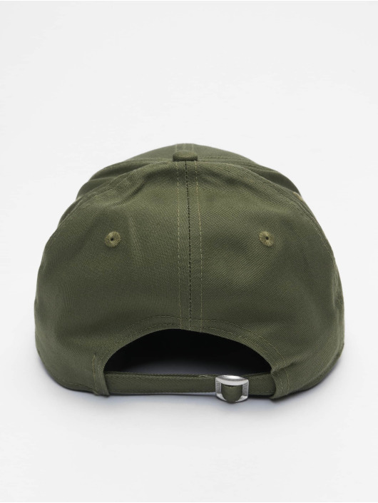 New Era Snapback Caps Mlb Properties New York Yankees League Essential 9forty olivový